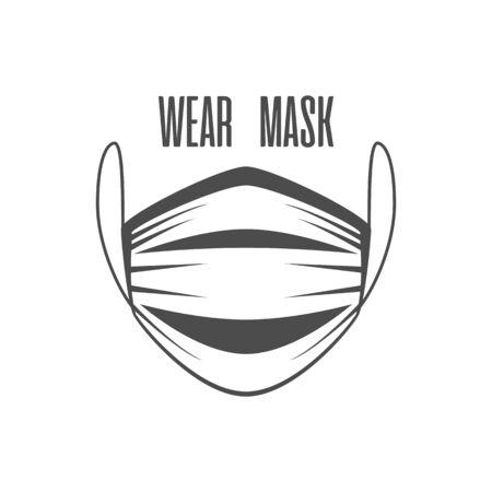Wear face mask.