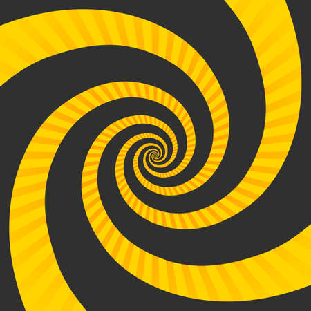 Abstract hypnotic spiral.