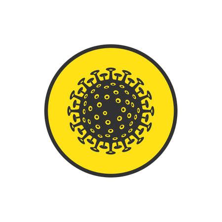 Corona virus sign.