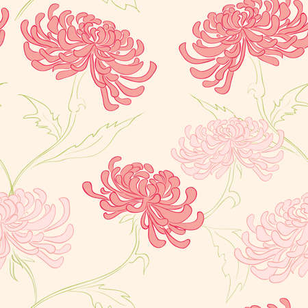 hand drawing seamless pattern with flowers  Stock Vector - 8035278