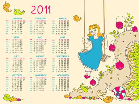 calendar design: calendar design for kids