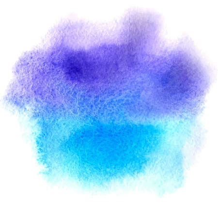 violet background: Abstract blue watercolor background for design