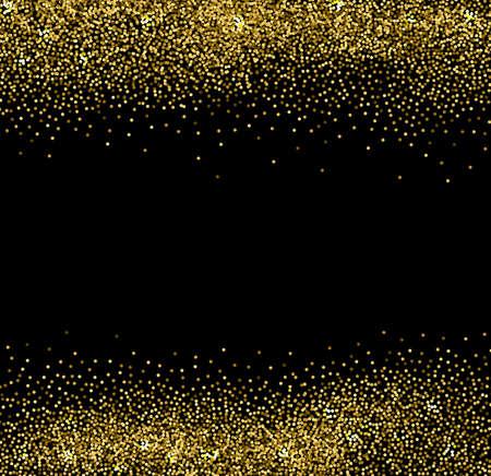 Vector abstracte gouden glinsterende achtergrond voor ontwerp