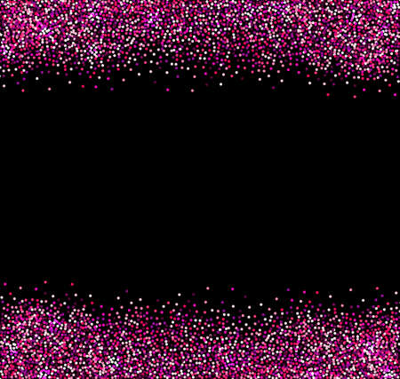 pink and black background: Vector abstract pink glittering background for design