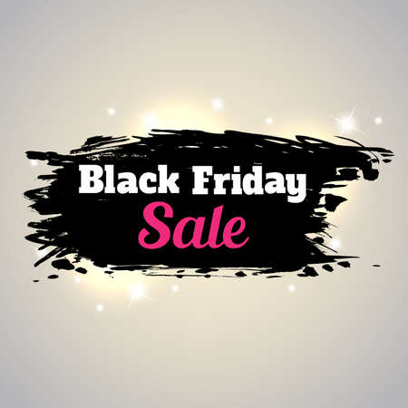 wholesale: Abstract shining background for Black Friday sale.