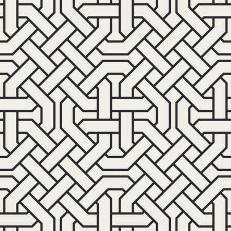Modèle sans couture géométrique abstrait décoratif. Fond ornemental oriental traditionnel. Illustration vectorielle.