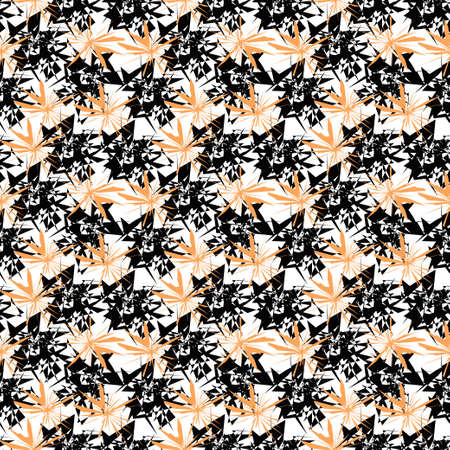 abstracted: abstracted seamless pattern