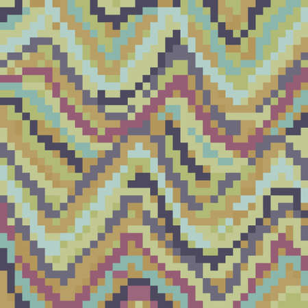 Colorful abstract pixelated
