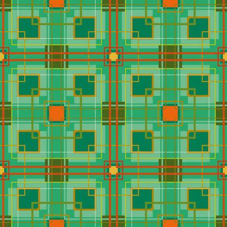 Geometric seamless abstract pattern  Illustration