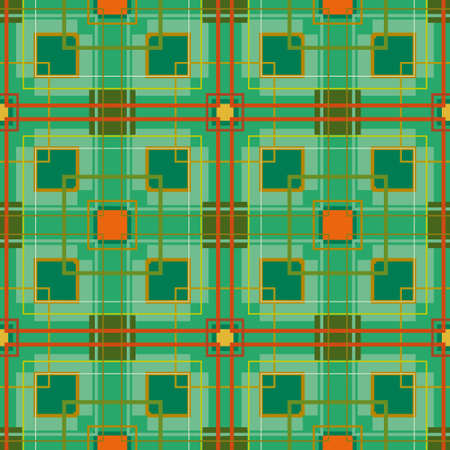 scotish: Geometric seamless abstract pattern  Illustration