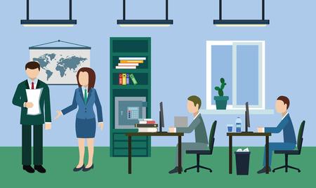 jornada de trabajo: Día de trabajo típico en la oficina