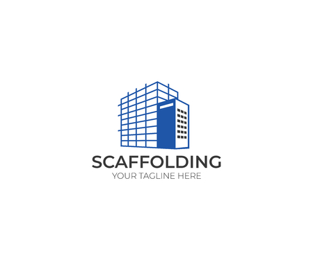 Scaffolding icon Template. Construction Vector Design. Scaffold Illustration