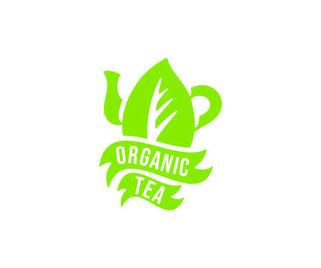 Organic tea logo design