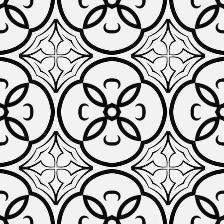 Retro ornamental pattern Vintage template