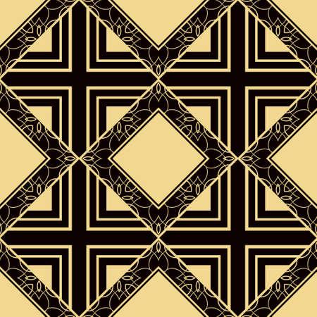 abstract geometrical seamless ornamental pattern vector illustration Illustration