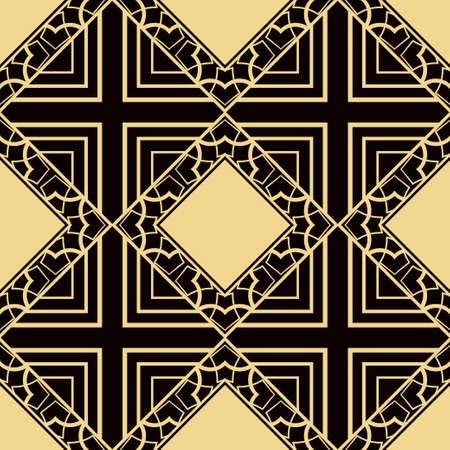 abstract geometrical seamless ornamental pattern vector illustration Ilustrace
