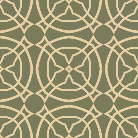 Fbstract seamless ornamental vintage pattern. Vector illustration Illustration