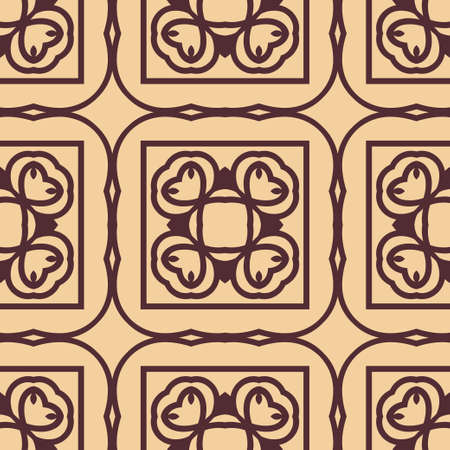 Vintage ornamental seamless pattern. Template for design