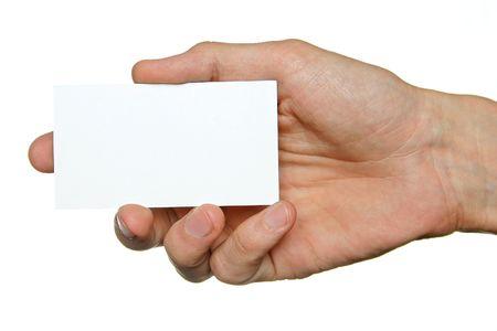 show bill: Hand and cutaway
