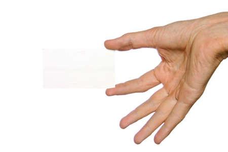 show bill: La mano y el cutaway