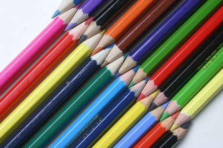 chromatic colour: Pencil Stock Photo