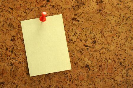 corkwood: Sticker on the cork Stock Photo