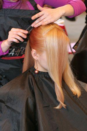 loveliness: Woman coiffure