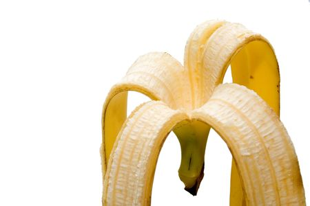 collation: Banana skin Stock Photo