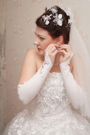 primp: Abiti da sposa orecchio-ring