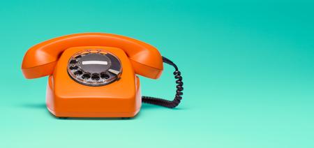 Telephone in retro style.