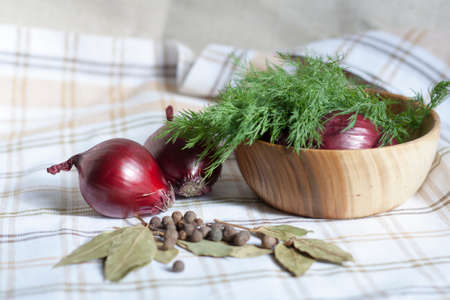 dill: Dill and spices