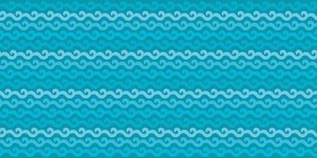 blue colour wallpaper Ilustração