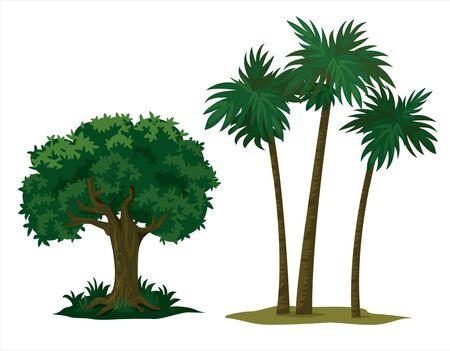 big trees for garden decoration Banco de Imagens - 150528518