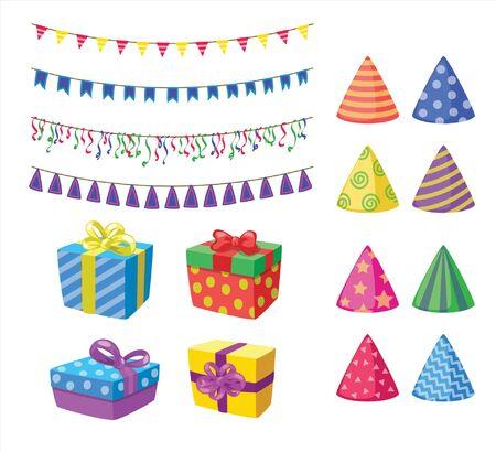 birthday celebration objects