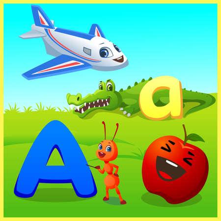 alphabet learning for kids Banco de Imagens - 152524778