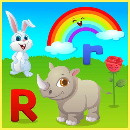 alphabet learning for kids Banco de Imagens - 152524946
