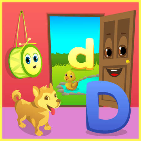 alphabet learning for kids Banco de Imagens - 152524972