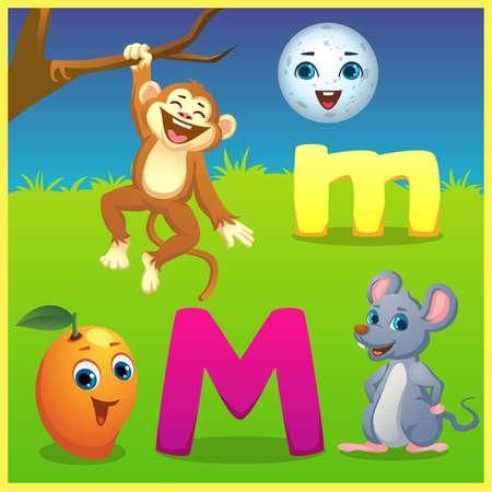 alphabet learning for kids
