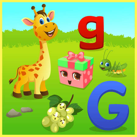 alphabet learning for kids Banco de Imagens - 152525141