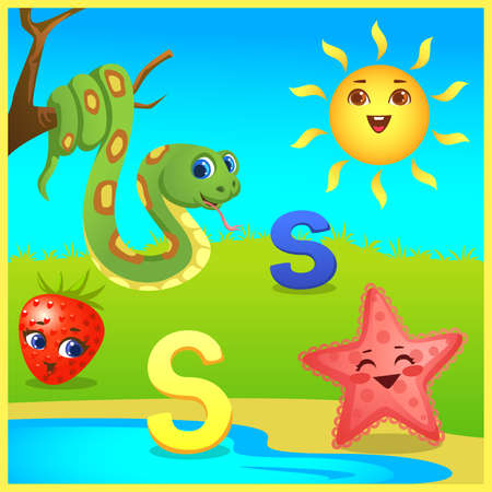 alphabet learning for kids Banco de Imagens - 152525155