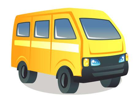 a school van vector