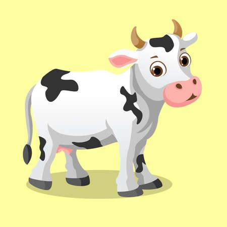 cow vector illustration Ilustração