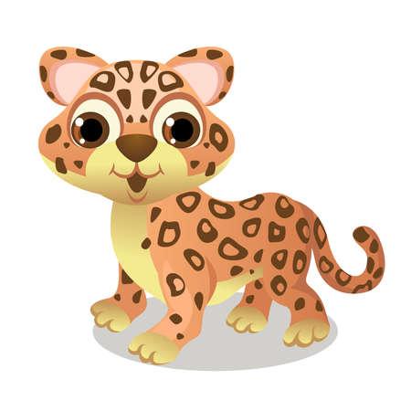 cute little jaguar animal