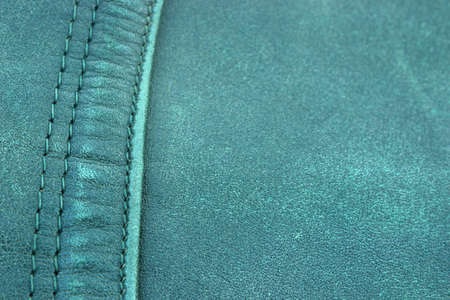 Genuine leather in close-up photo