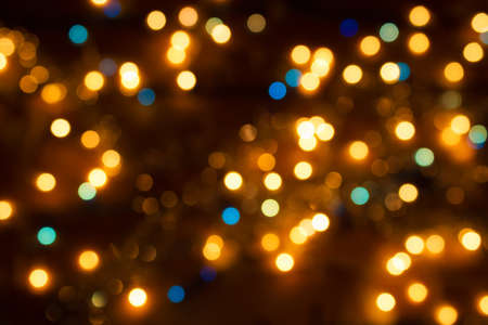 holiday lighting: New Year s shine as a background, photography