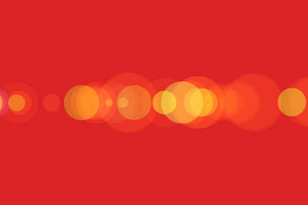 power projection: Yellow,red and orange light in the shape of a circle, Soft lights, Illustration Stock Photo