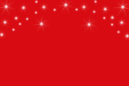 new year s card: Lights on a red background, New Year s card, Illustration Stock Photo