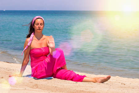 Yoga exercises for the mind and body, Photography