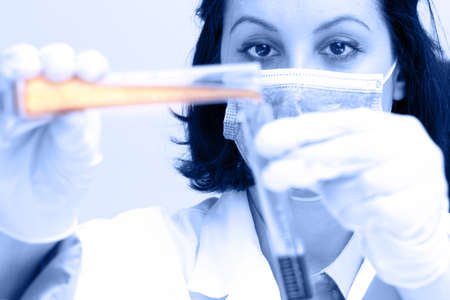 Laboratory research photography