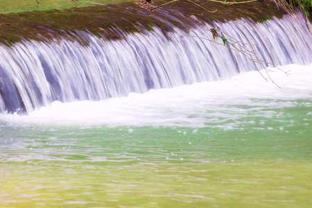 Beautiful small waterfall of great natural beauty, Photography